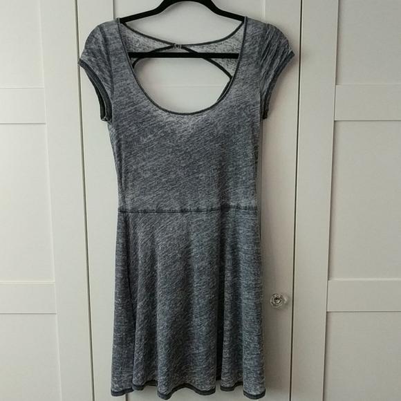❄️3/$25 AMERICAN EAGLE Heathered Fit & Flare Dress